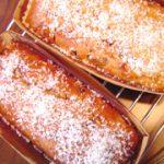 干し柿のパウンドケーキ&アップルタルト