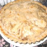 アップルパイを焼きました。