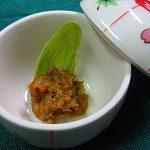 2009年、ふきんと味噌の初物