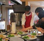 月森理衣(紀子)さんのお料理教室に参加してきました。
