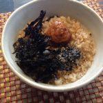 炒り玄米のお粥